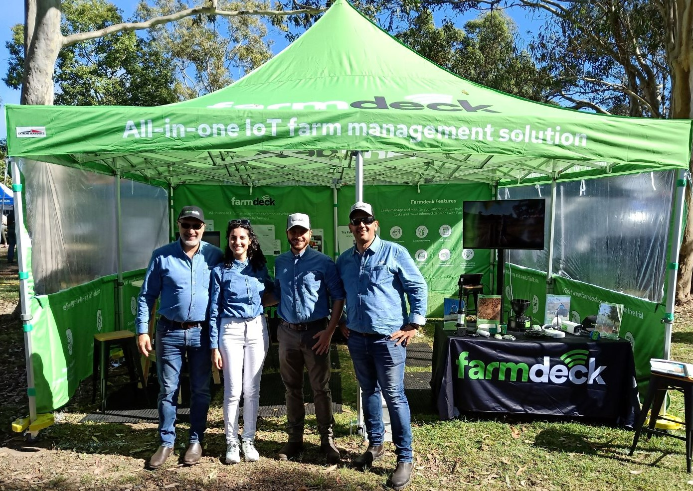 Farmdeck having a field day at Tocal Field Days