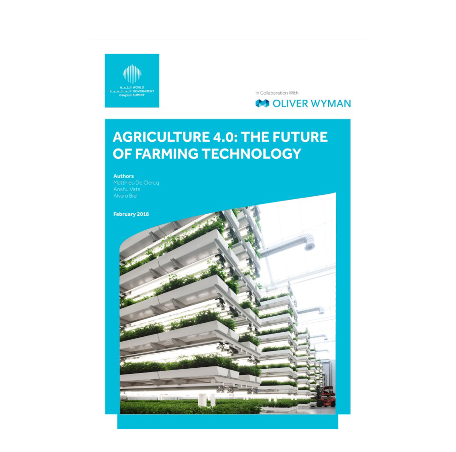 Agriculture 4.0: The Future of Farming Technology;